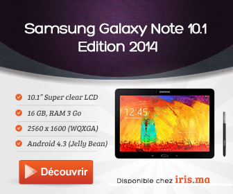 Samsung Galaxy Note 10.1 Edition 2014 - 3G 16 GB Noir